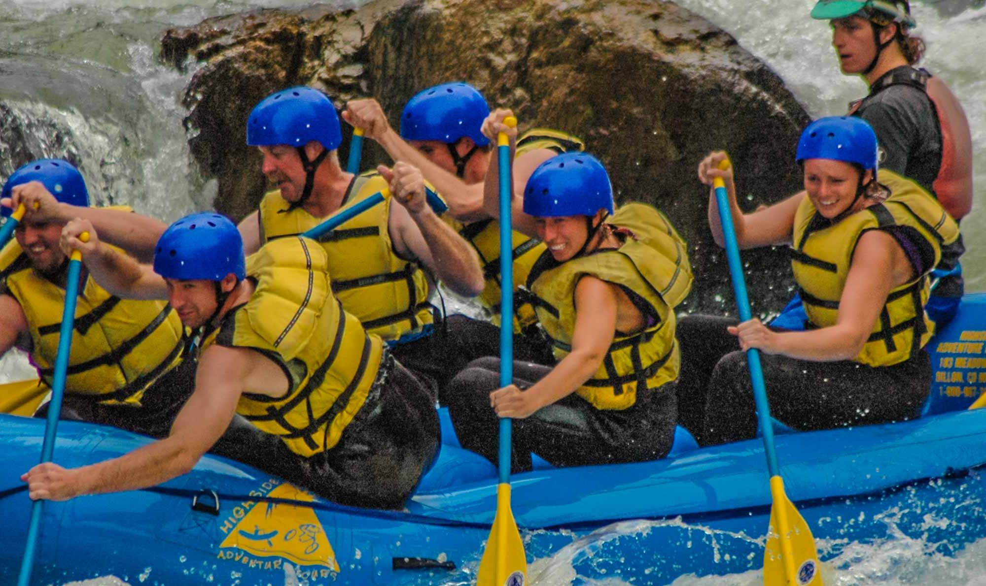 Rafting on the Clear Creek River